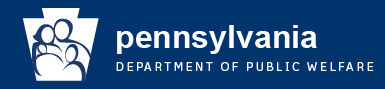 Pennsylvania Department of Public Welfare